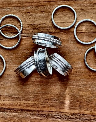 Spinner Rings by Creative Escape Studio - crafts in London
