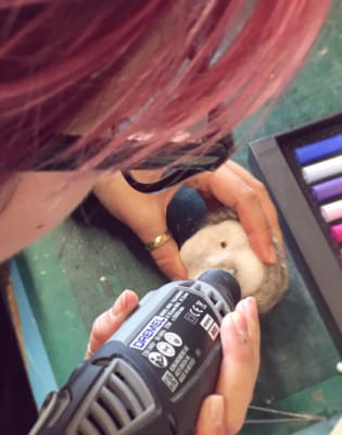 5 Day Wool/Felt Puppet Fabrication and Wire Armature Building Course by Ctrl+ART+Dlt - art in London
