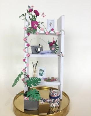 3D Paper Modelling / Botanical Paper Cutting Workshop by Silvina De Vita - My Papercut Forest - crafts in London