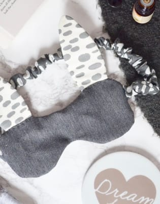 Sew a Bunny Sleep Mask (in collaboration with The Things She Makes) by Maiden Aunt - crafts in London