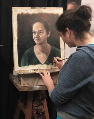 Painting and Drawing Class by Cristiano Di Martino - art in London