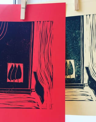 Lino-Printing Workshop by Kim Minuti - The Surface and the Ink - art in London