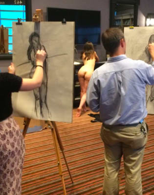Drink and Draw - Life Drawing Class in Kentish Town by The Merry Nude - art in London