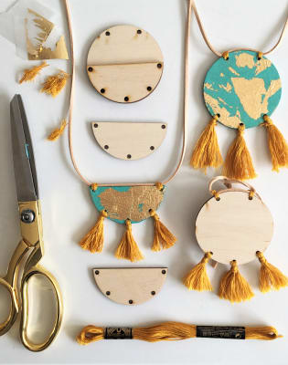 Wooden Jewellery Class with Maiden Aunt at Obby Pop Up at Make More Festival by Maiden Aunt - crafts in London