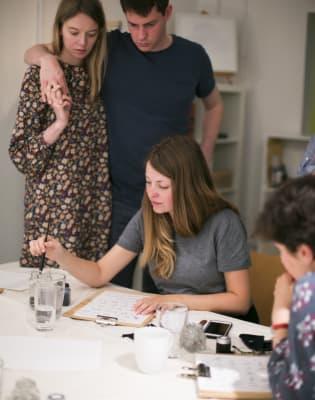 Calligraphy Workshop by Bezalel Workshops - art in London