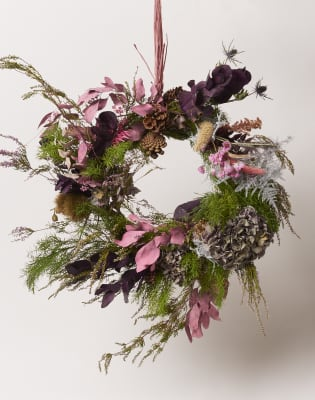 Christmas Wreath Workshop by Grace & Thorn - crafts in London