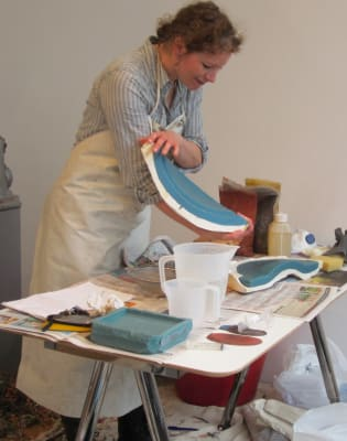 Concrete Casting Taster Session by Concrete + Clay  - art in London