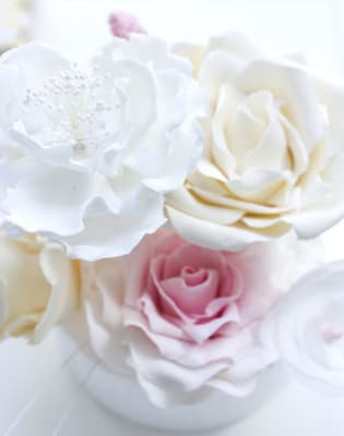 Make Sugar Flowers. Learn how to make peonies and roses to give your cake that wow factor. by Friddle's Cakes - food in London