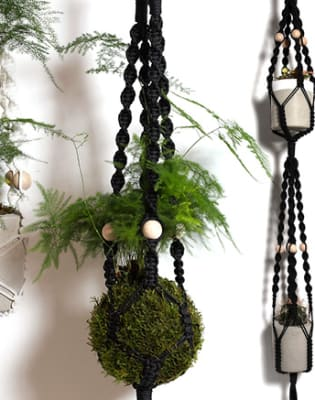 Make a Macramé Hanging Planter by Alyson Mowat Studio - crafts in London
