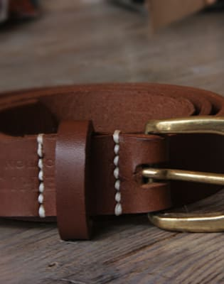 Make a Leather Belt by Stag and Bow - crafts in London