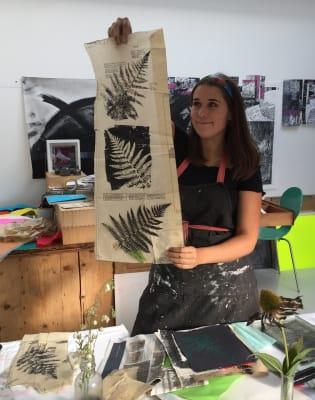 Gelli Printmaking Workshop by no5workshops - art in London
