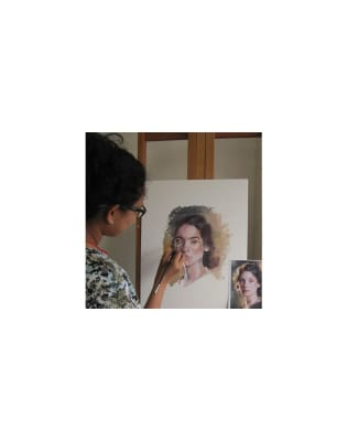 Oil Portraiture with Bill Newton by Crafty Arts - art in London