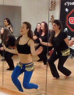 Belly Dance Improvers Class by Tevec Dance - dance in London