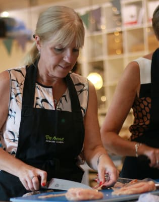 Ladies who lunch by The Avenue Cookery School - food in London