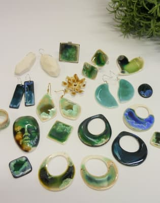 Porcelain Jewellery Making Workshop by Erika Albrecht Ceramics - crafts in London