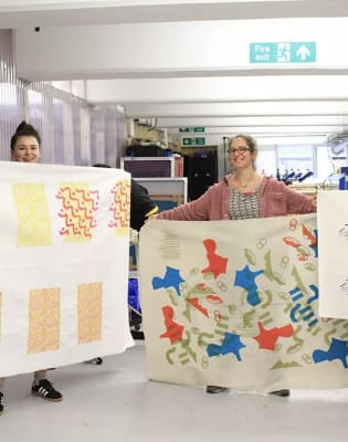 Beginners Fabric Screen Printing Workshop by 3rd Rail Print Space - art in London