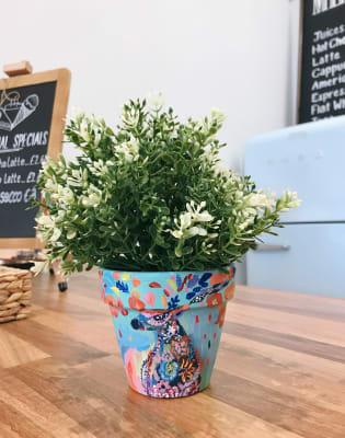Paint Your Own Plant Pot by Liberté Concept - art in London