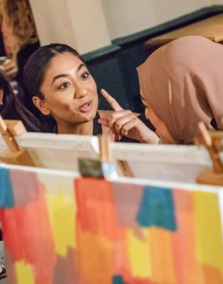 Paint like Picasso! by PopUp Painting - art in London
