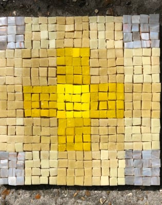 Abstract Mosaic: Studying and creating Andamenti and Colour arrangements by London School of Mosaic - art in London