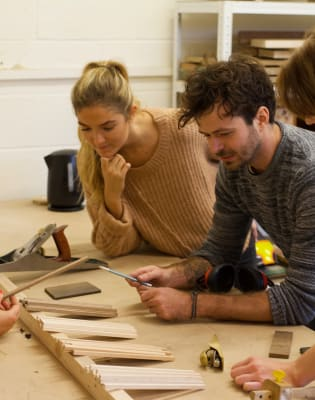 Woodworking Class: Make Your Own Chopsticks by Dovedale Design Studio - crafts in London