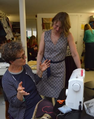 Introduction to Garment Repairs and Alterations (machine sewing) with Barley Massey : Morning by Fabrications - crafts in London
