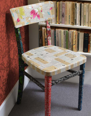 Upcycle Furniture with Decoupage by Gabriela Szulman Art - crafts in London