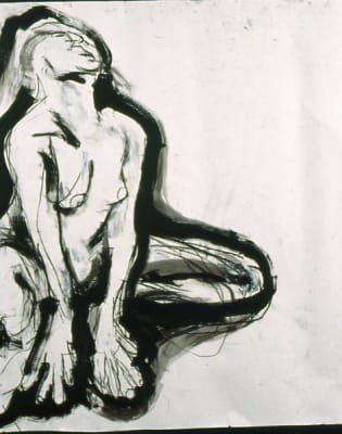 Life Drawing Class in an Artist's Working Studio by London Art Classes - art in London