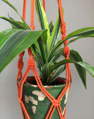 Macrame Plant Hanger Workshop @Mercato Metropolitano with Greenrooms Market by By-Me - crafts in London