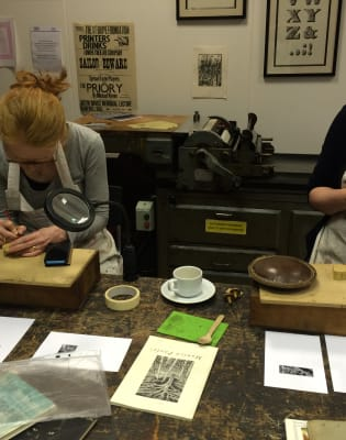 Wood Engraving (Relief Printing) Taster Day by St Bride Foundation - crafts in London