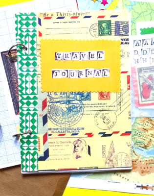 Family Workshop: Travel Journal by Little Artists London - crafts in London