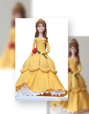 Cake Decorating: Princess with a Red Rose by Ultimate Cake Art - food in London