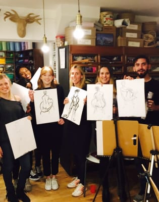 Life Drawing for Beginners (with BYOB!) by M.Y.O (Make Your Own) - art in London