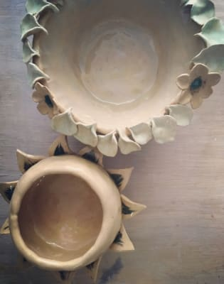 Private Handbuilding Ceramic Workshop for 2 by Camilla Webb Carter - art in London