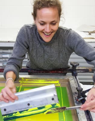 Screenprinting Two-Day Intensive Course by Thames-Side Print Studio - art in London