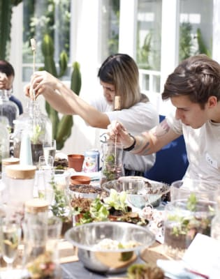Leafage Terrarium Workshop + Prosecco by Leafage - crafts in London