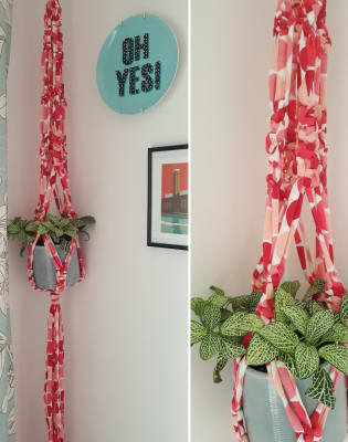 Macrame Plant Hanger by Craft My Day LTD - crafts in London