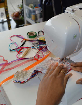 Dressmaking Workshop by Luchi and Ota - crafts in London