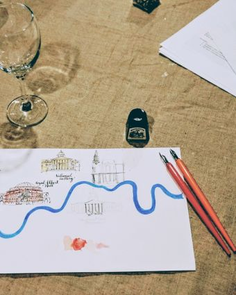 Make Your Own Illustrated Maps of London - for Beginners!