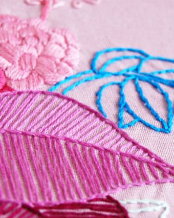 Embroidery for Beginners with Carina Envoldsen-Harris