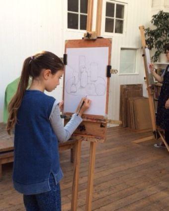 Young Artists Art Class (12 - 18)