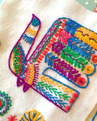 Learn how to Embroider Beautiful Art Work!