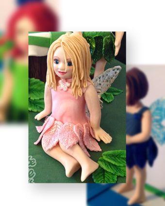 Cake Decorating: Little Fairy Sugar Modelling