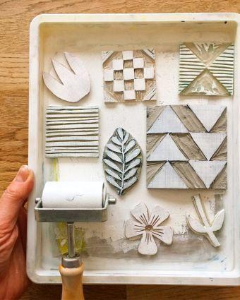 Lino Printing with Karen Lewis