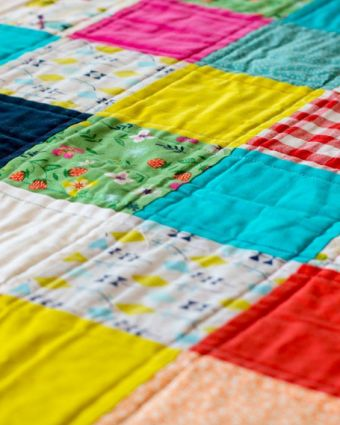 Learn to Make a Quilt with Charlotte Newland, winner of The Great British Sewing Bee