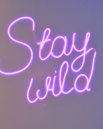 Make A Neon-Style Artwork on Canvas