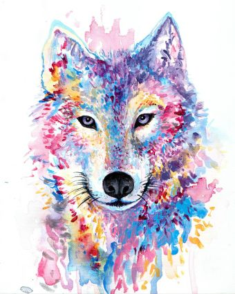 Masterpiece Painting Night - Wolf