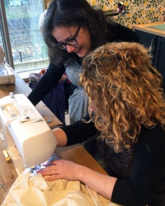 Guided Studio Time with Charlotte Newland, winner of The Great British Sewing Bee