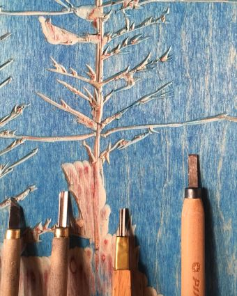 Woodcut Printing