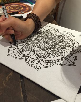 Mandala Drawing Workshop