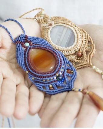 Macrame Jewellery Workshop for Beginners